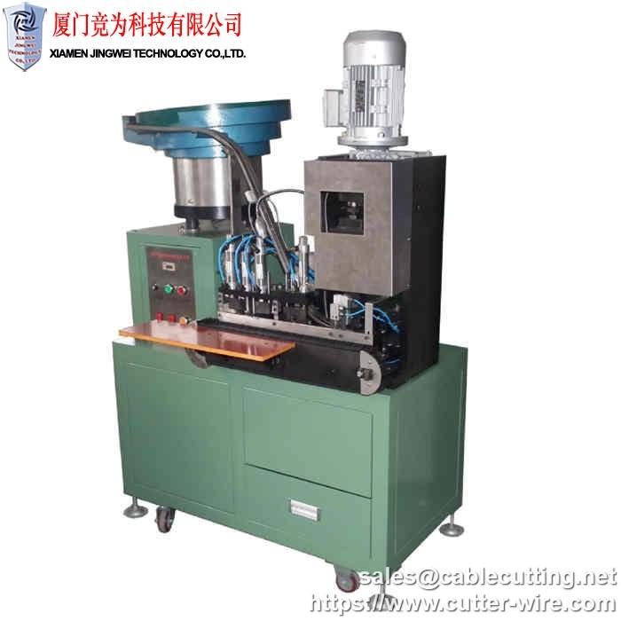 Automatic European standard power plug crimping machine WPM-203-B