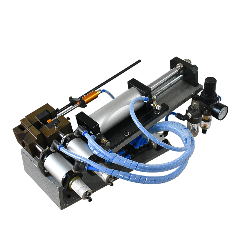 Gas-electric cable stripping  machine
