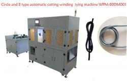 Circle and 8 type automatic cutting winding tying machine WPM-80DM001